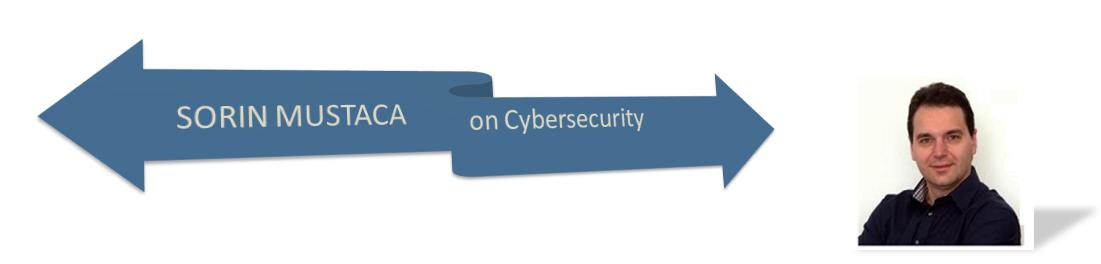 Sorin Mustaca on Cybersecurity